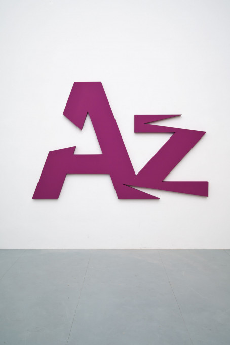 2010, lacquer, wood, 157 x 240 x 8,5 cm, Collection Allianz AG